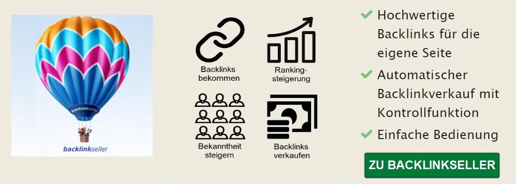 Backlinkseller Banner