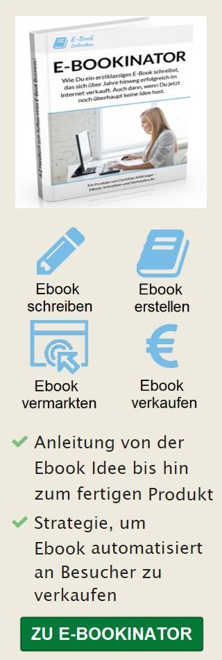 E-Bookinator mobile Banner