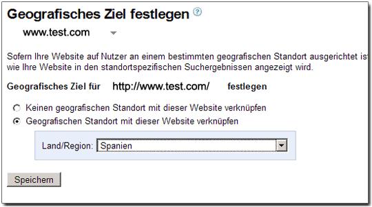 Geodaten Webmastertool