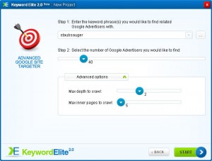 Keywordelite Google Site Targeter