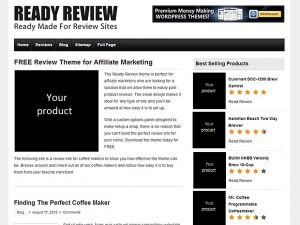 Ready Review Theme