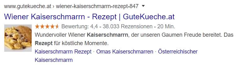 Schema.org Rezept