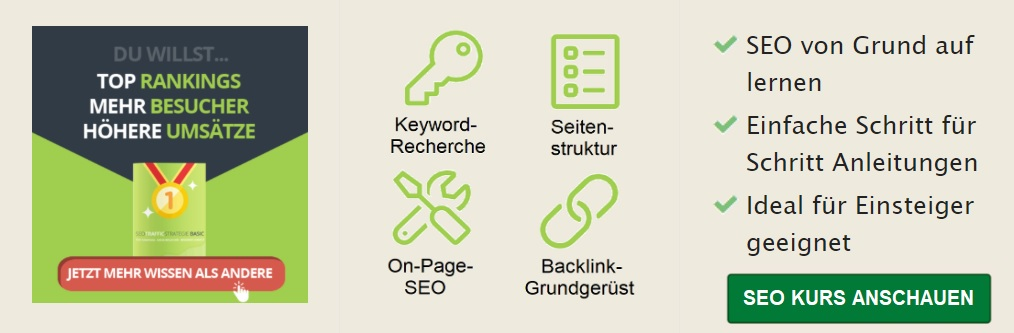 SEO Traffic Strategie Banner