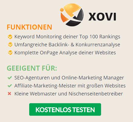 XOVI Banner