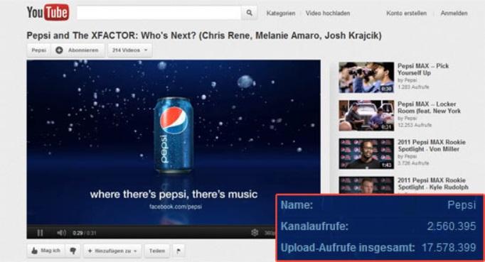 YouTube Pepsi